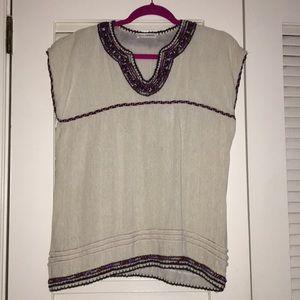 Gorgeous Ulla Johnson embroidered shirt
